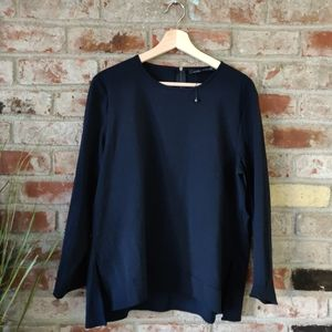 Zara navy tunic
